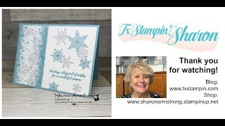 Holiday Cards: Snow is Glistening | Stamparatus