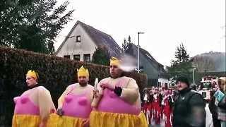 Auf groser Tour zum Karnevalszug Schleiden Eifel - 2015 - 2