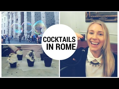TRAVEL DIARY: BEST COCKTAIL TOUR IN ROME