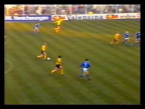 BL 84/85 - Borussia Dortmund vs. FC Schalke 04