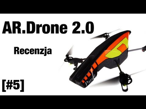 Parrot AR.Drone 2.0 - recenzja   Apple Reviews PL