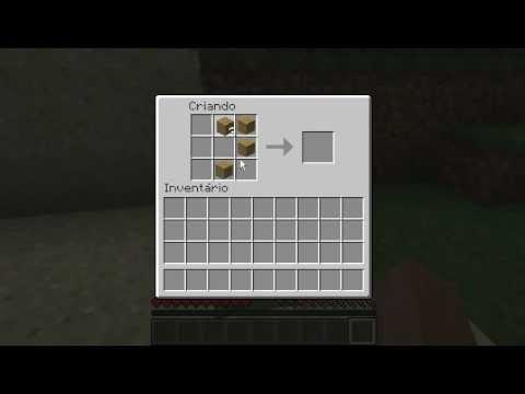 Minecraft Como Fazer Uma Porta YouTube
