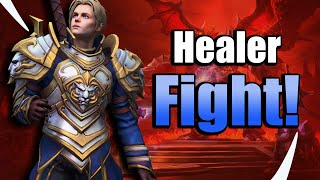 Who Heals the Most? Anduin VS Auriel! - Heroes of the Storm w Kiyeberries