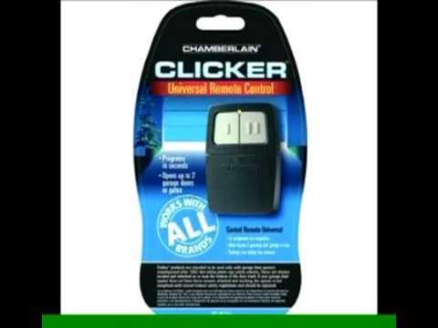 Chamberlain Clicker Universal Remote Control Programming