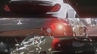 GTA 5 - Car Battle #2: Lancer Evo 8 vs S63 AMG vs Civic Type-R (Stanced Battle)