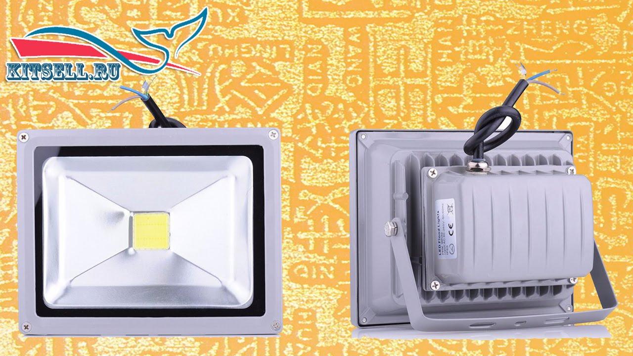 Ремонт светодиодных прожекторов 20 w