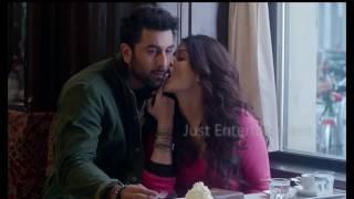 Aishwarya Rai Hot tongue Kiss with Ranbir Kapoor l Bollywood