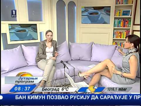 Maja Nikolic Japundza Crossing Legs video