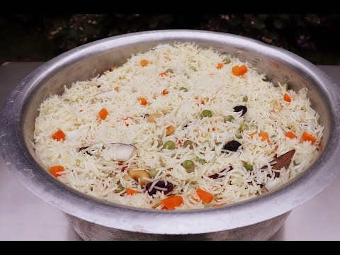 Easy pulao rice recipe video | Homefoodbuzz