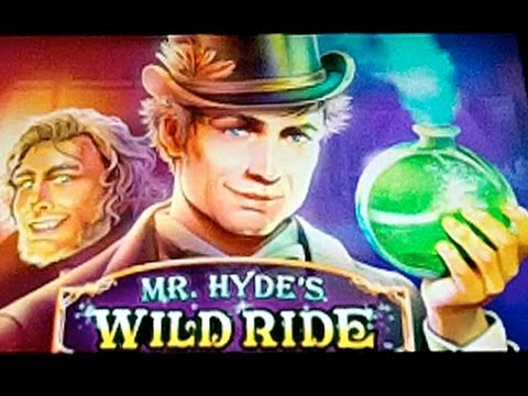 *NEW* - WMS - Mr. Hyde s Wild Ride - Slot Machine Bonus