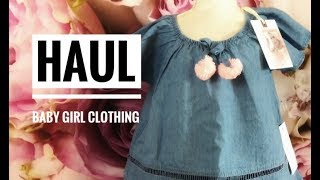 HAUL | BABY GIRL CLOTHING | Name Brand SALES!!! 2018