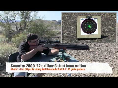 Sumatra 2500 .22 airgun review by AirgunWeb