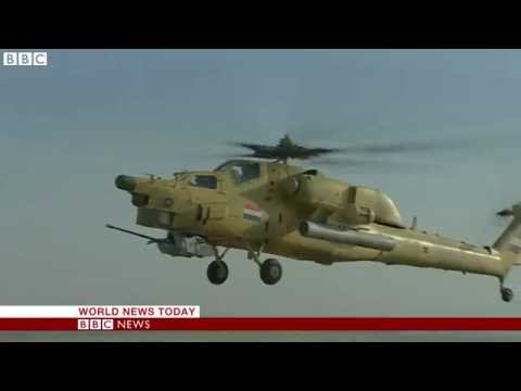 Iraq AF pilots fighting for Fallujah