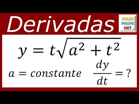 Derivada de una función utilizando la Regla del Producto y la Regla de la Cadena para potencias