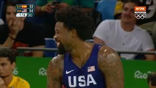 USA vs Spain — Semifinal | Full Game Highlights | Rio 2016 Olympics Basketball