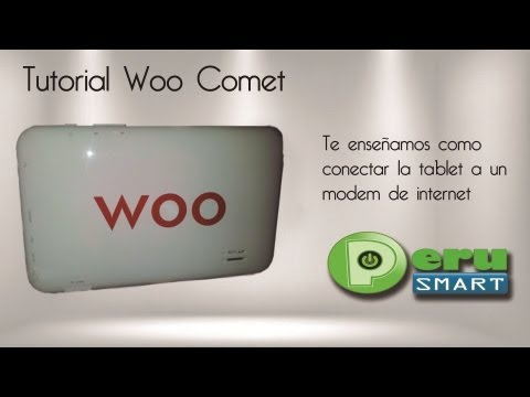[Peru Smart] [Tutorial] Como Conectar Modem 3G / 4G con Tablet Woo