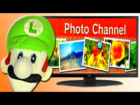 Luigi Time!!! (Wii Photo Channel)