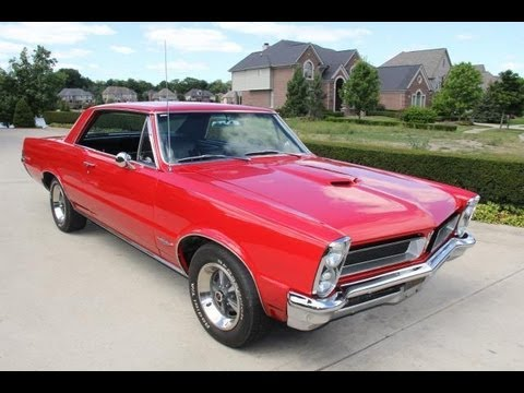1965 pontiac lemans gto clone classic muscle car for sale in mi vanguard motor sales youtube. Black Bedroom Furniture Sets. Home Design Ideas