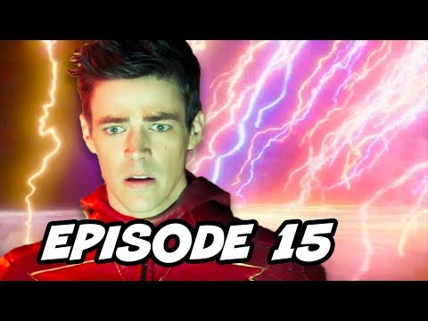 The Flash 4x15 Enter Flashtime Episode - TOP 10 WTF and Easter Eggs thumbnail