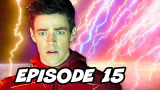 The Flash 4x15 Enter Flashtime Episode - TOP 10 WTF and Easter Eggs