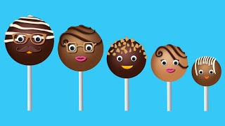 The Finger Family Chocolate Pop Family Nursery Rhyme | Chocolate Pop Finger Family Songs