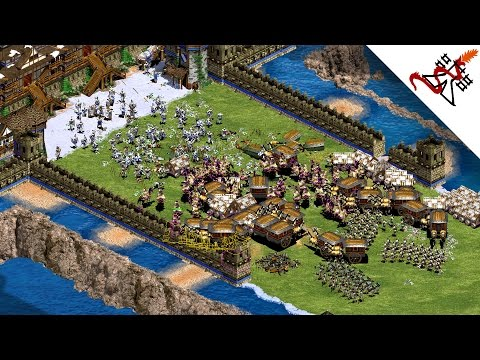 Age of Empires 2 - 4vs4 INSANE BATTLE | Multiplayer Gameplay