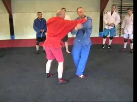 Sambo Technique - Shoulder Throw & Inside Hook Combination Image 1
