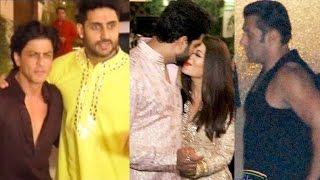 Bollywood Celebs Diwali Party 2016 Full Video - Salman Khan, Shahrukh Khan, Aishwarya Rai