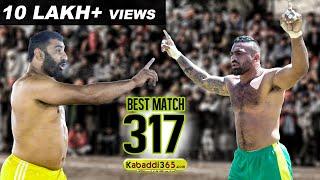#317 Best Semi Final Match Sarawan Vs Manuke Rajiana Moga Kabaddi Tournament 2018