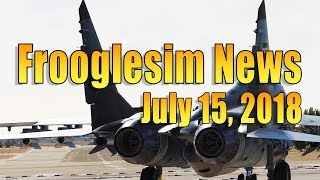 FROOGLESIM NEWS  - JULY 15 2018