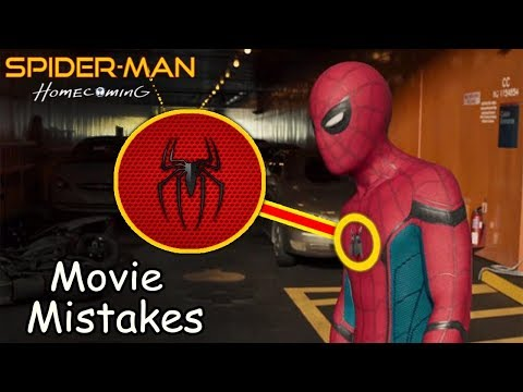 Mistakes in Spider Man Homecoming 2017 thumbnail