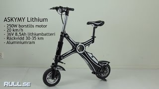 Rull.se Elscooter Askmy Lithium