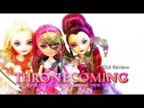 Doll Review: Ever After High Thronecoming