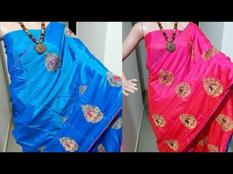 **hit design** latest sana silk Saree with elephant embroidery work || sana silk saree collection