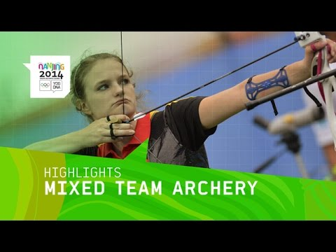Mixed Team Archery Final   Highlight   Nanjing 2014 Youth Olympic Games