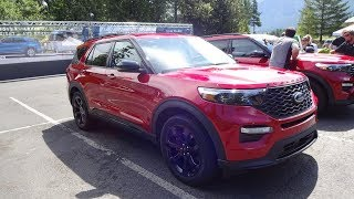 2020 Ford Explorer ST Handling and Off-Road first drive. Part 3