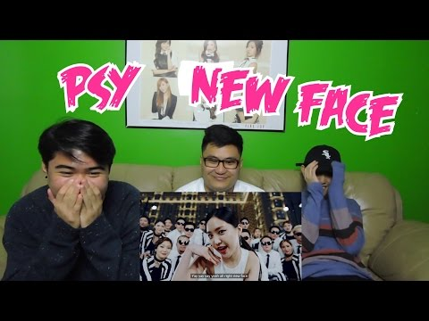 PSY - NEW FACE MV REACTION (FUNNY FANBOYS)