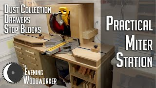 Practical Miter Station for a Small Shop- Part 2