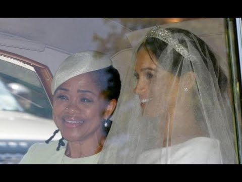 Queen, Prince Charles and Doria Ragland arrive for wedding
