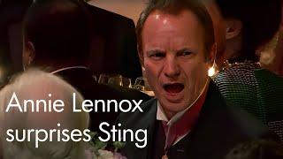 Annie Lennox Surprises Sting At The Polar Music Prize 2017