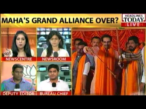 BJP-Sena maha alliance is over