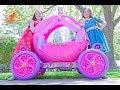 New Sky Kids Super Episode - Little Princesses Ride On Pink Disney Princess Carriage, & The Mechanic