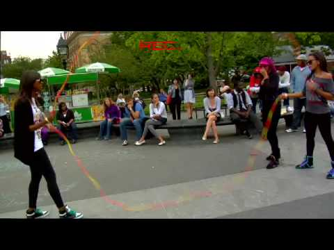 Vanessa and Angela Simmons Double Dutch [HQ] Video