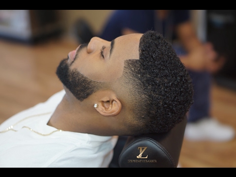 Drop fade Tutorial   Beard line up   HOW TO