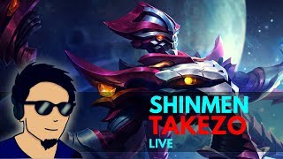 YOU RANK, YOU LOSE episode 1337 | Shinmen Takezo Live | Mobile Legends