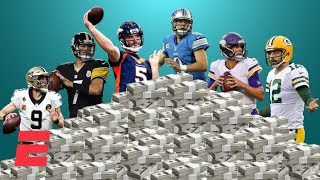 Why aren't the NFL's best QBs the best-paid QBs?