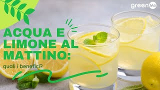 Acqua e limone al mattino, quali i benefici?