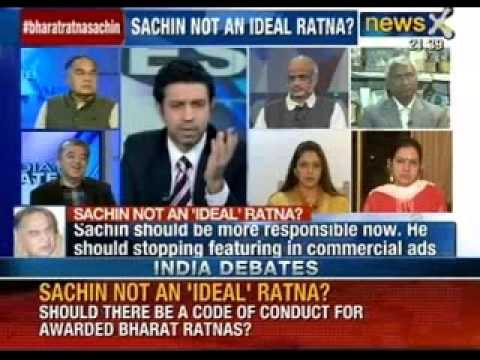 India Debate: Must Bharat Ratna Sachin Tendulkar surrender his commercial identity? - NewsX
