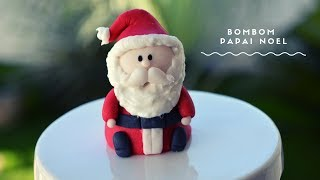 BOMBOM DECORADO  PAPAI NOEL