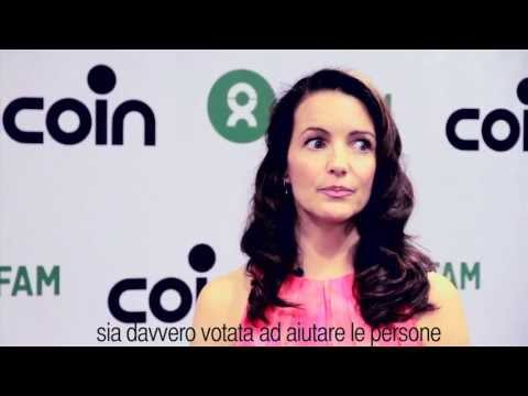 NCLP INTERVIEW - Kristin Davis for Oxfam Italy and Coin